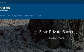 Erste Private Banking a depășit pragul de 1 miliard de euro active administrate