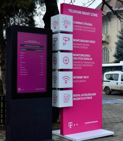 Piatra Neamț – Smart City, powered by Telekom