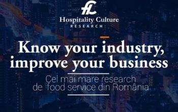Cel mai mare food service research din România