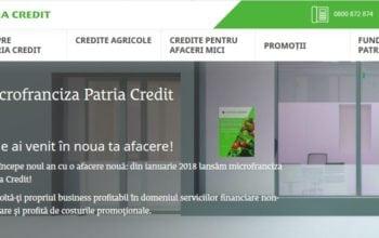 Patria Credit lansează Microfranciza Patria Credit