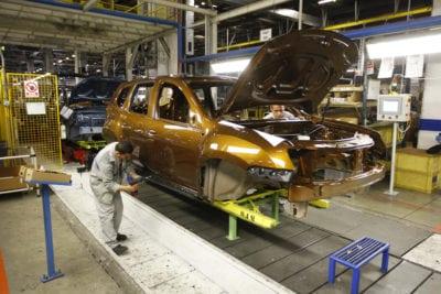 Uzina Dacia a produs peste 310.000 de mașini în 2017