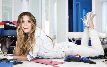#LETSDENIM, noua colecție de modă semnată de Heidi Klum pentru Lidl