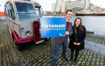 Un nou serviciu de transferuri Ryanair si CarTrawler
