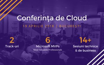 Conferinta de Cloud 2018