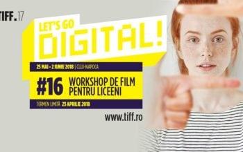 Start înscrierilor la atelierul Let's Go Digital 2018!