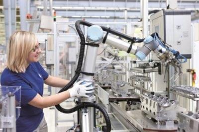 Roboții colaborativi își găsesc de lucru în România