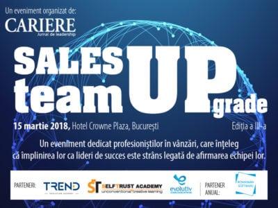 Sales Team Upgrade, evenimentul dedicat directorilor de vânzări!