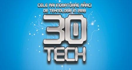 Top 30 cele mai inovatoare branduri de tehnologie