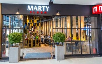 Marty Restaurants, prima locație din București