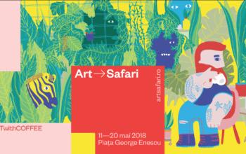 5 To Go și Art Safari București lansează o colecție limitată de pahare de cafea