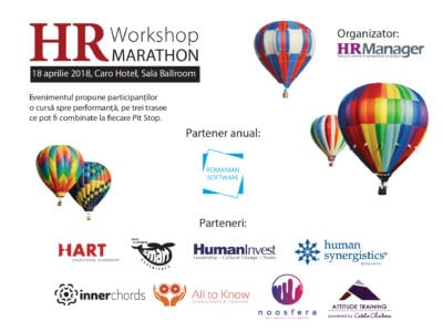 Antrenează-te la HR Workshop Marathon 2018