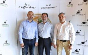 Doncafe Fresh sărbătorește trei ani de la lansare, prin noul concept Manufaktura: The Coffee Shop Restaurant