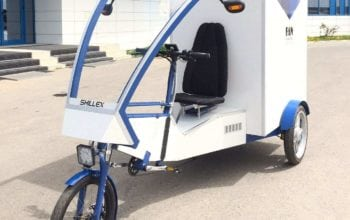Primul cargobike electric din flota FAN Courier