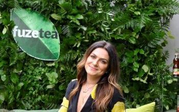 Alexandra Nechita, ambasador al brandului FuzeTea