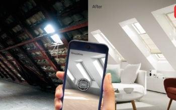 Aplicație de mobil pentru renovarea mansardei