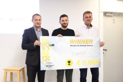 ThinkOUT, câștigătorul Elevator Lab Challenge