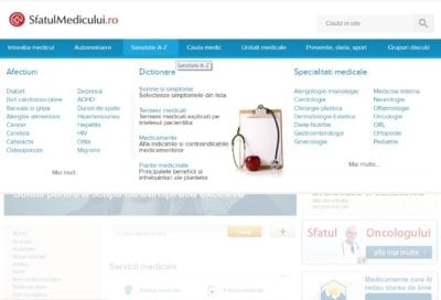 MedLife a achiziționat platforma SfatulMedicului.ro