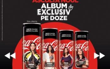 Muzică pe dozele de Coca-Cola