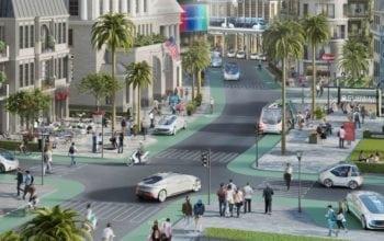 Oraș pilot pentru conducerea automatizată