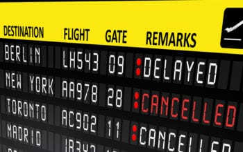 Numărul zborurilor întârziate aproape că s-a triplat