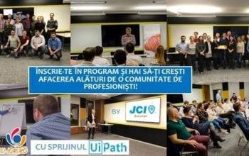 Programul de mentorat JCI Tineri Antreprenori, la a 5 a ediție
