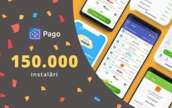 Aplicația Pago, descărcată de 150.000 de ori