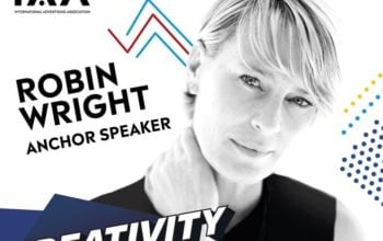 Robin Wright, la Conferința Globală IAA Creativity 4 Better
