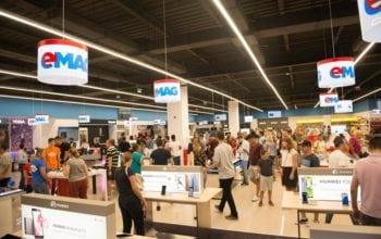 Vânzări record în showroom-ul eMAG din Băneasa în primul weekend de la deschidere