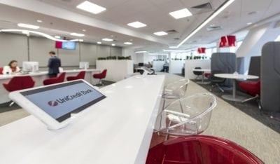 UniCredit Bank remodelează sucursalele