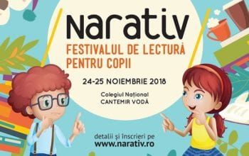 Începe a IV-a ediție NARATIV – Festivalul de lectură pentru copii