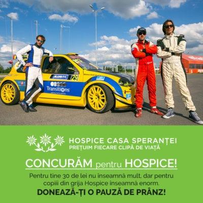 Trei piloți donează cursa la Campionatul Național de Viteză în Coasta de la Brașov