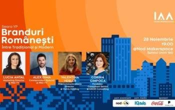 Seară YP dedicată Brandurilor Românești