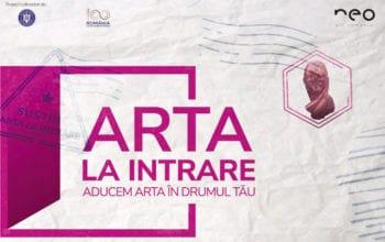 """NeoArt a lansat ediția a doua a proiectului """"ARTA la intrare. Identitar"""""""