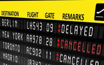 Topul țărilor cu zboruri întârziate și anulate