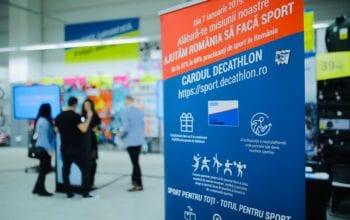 Proiectul naţional și un nou sistem de fidelizare la Decathlon