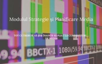 Un nou modul la Școala IAA: Strategie și Planificare Media