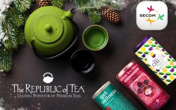 Ceaiurile The Republic of Tea, în portofoliul Secom