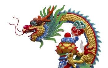 Dragonul care înghite lumea
