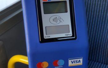 Plată contactless în mijloacele de transport în comun din Oradea