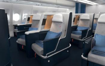 Air France, investiție de 140 mil. euro în cabine lung-curier