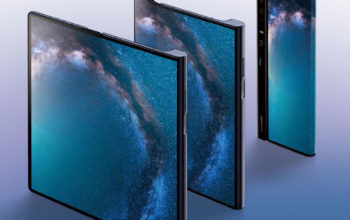 Huawei a lansat Mate X, primul său smartphone cu ecran pliabil
