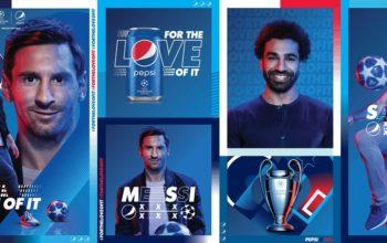 Leo Messi și Mohamed Salah, în noua campanie Pepsi