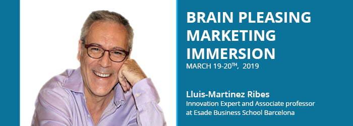 Brain Pleasing Marketing cu Lluis Martines Ribes