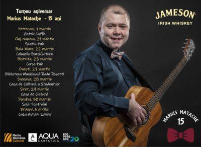 Marius Matache, turneu aniversar pentru 15 ani de carieră