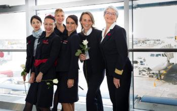 Premieră: zbor Paris – București operat de un echipaj 100% feminin