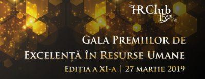 Gala Premiilor de Excelenţă în Resurse Umane HR Club