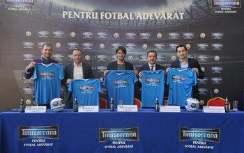 Timișoreana mizează pe fotbal adevărat în Cupa României