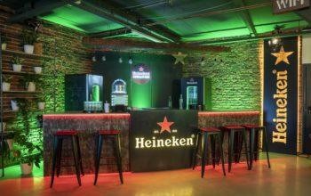 Home Bar-uri Heineken pentru experiențe UEFA Champions League
