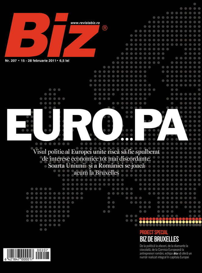 Biz magazine cover - Bruxelles edition