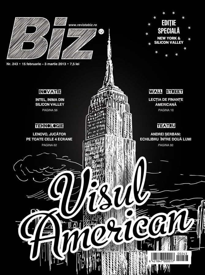 Biz magazine cover - Biz New York & Silicon Valley